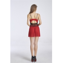 #5053 Vacodo Mesh Sexy Babydoll RED