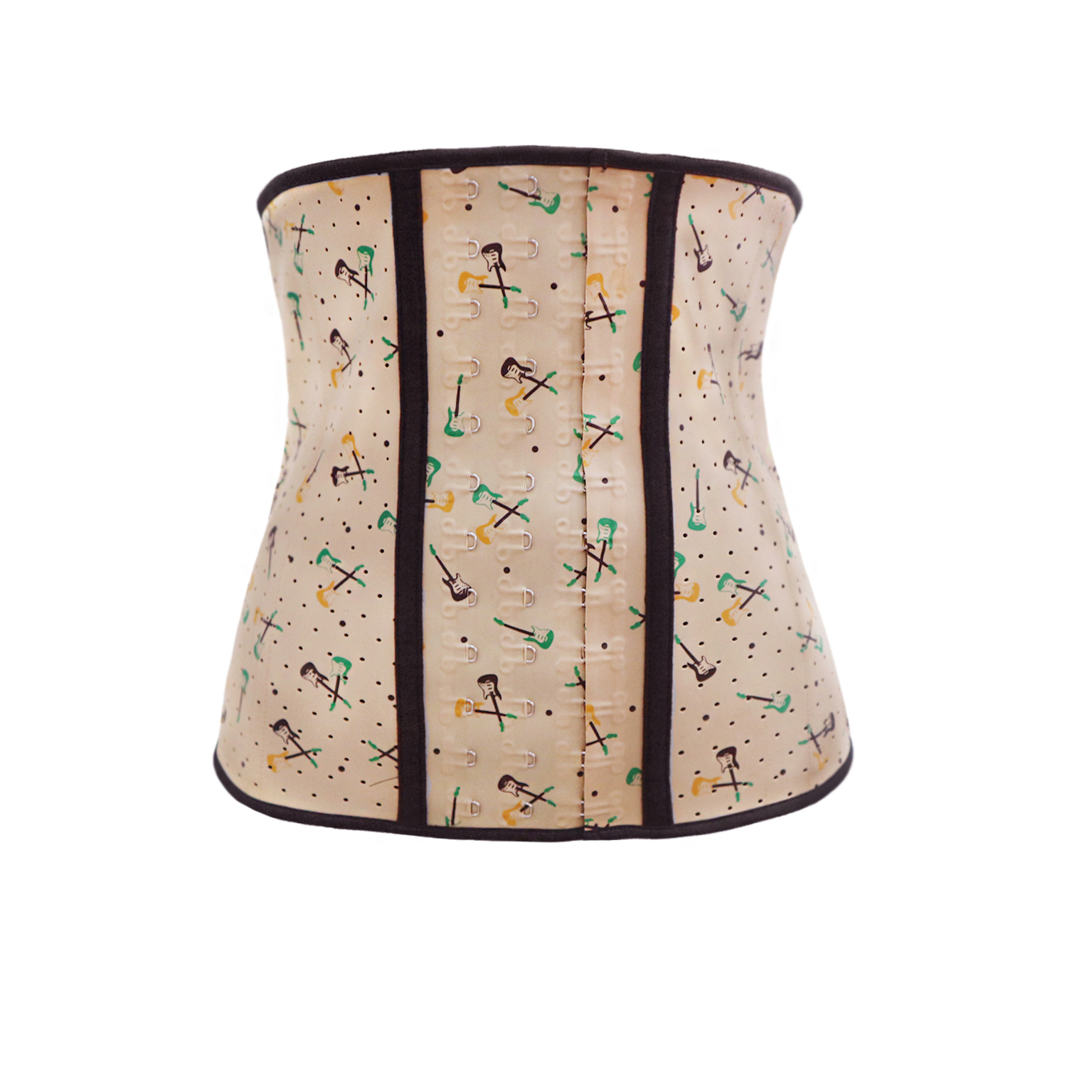 f1a687818c  8804 Perforated Womens Sport Latex Waist Trainer Cincher Corset Shapewear  Color Print