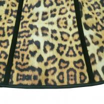 4d102dd0a7 ...  8806 Womens Sport Latex Waist Trainer Cincher Corset Shapewear Leopard  Print—Brown ...