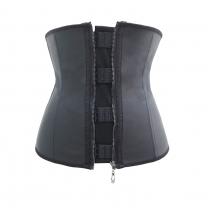 c2e7587b51  8812 Womens Sport Latex Waist Trainer Cincher Corset Shapewear With Zipper